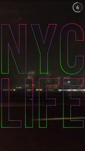 Snapchat NYC Life