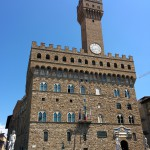Palazzo della Signoria e orologio