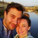 Io e Andrea sull'Arno
