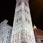 Campanile di Giotto, Firenze notte