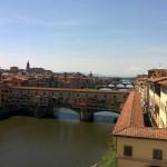Veduta dagli Uffizi Arno